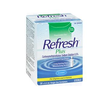 Image 2 of product Allergan - Refresh Plus Lubricant Eye Drops, 30 x 0.4 ml