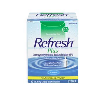 Image 3 of product Allergan - Refresh Plus Lubricant Eye Drops, 30 x 0.4 ml