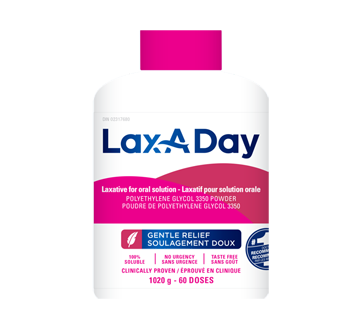 Image of product Lax-A-Day - Oral Solution Laxative, 1020 g