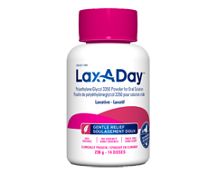 Image of product Lax-A-Day - Lax-A-Day Peg 3350 powder, 238 g