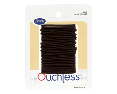 Image of product Goody - Ouchless Small Thin Elastics, 36 units, Black