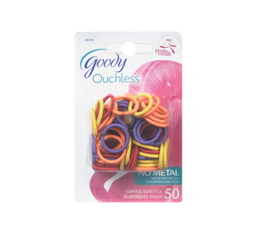 Image of product Goody - Ouchless Elastics Mini 2mm, 50 units, Pinks