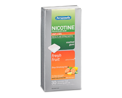 Image of product Personnelle - Nicotine Gum Regular Strength 2 mg, 30 units, Fresh fruits