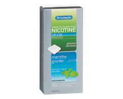 Image of product Personnelle - Nicotine Gum Regular Strength 2 mg, 30 units, Menthol extreme