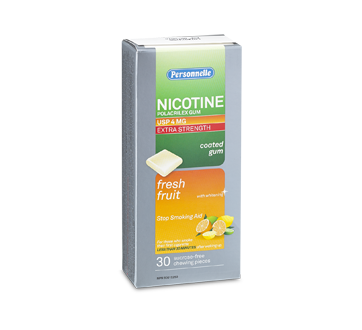 Image of product Personnelle - Nicotine Gum Extra Strength 4 mg, 30 units, Fresh fruits