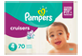 Thumbnail of product Pampers - Cruisers Diapers, 70 units, Size 4
