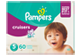 Thumbnail of product Pampers - Cruisers Diapers, 60 units, Size 5