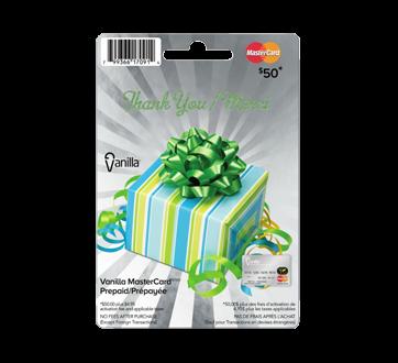 $50 Vanilla Thank You Prepaid Mastercard, 1 unit