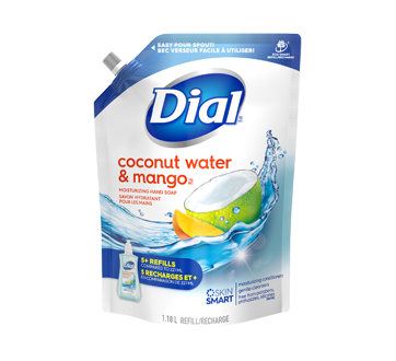Hand Soap, 1.18 L, Coconut Water & Mango