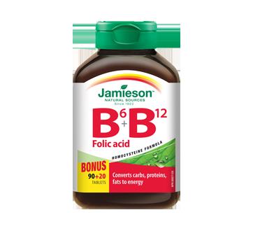 Image 1 of product Jamieson - Vitamin B6 + B12 and Folic Acid, 90 units