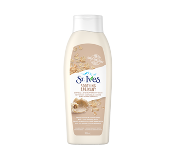 Body Wash, 709 ml, Oatmeal & Shea Butter