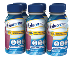Image of product Glucerna - Nutritional Drinks, 6 x 237 ml, Wildberry