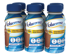 Image of product Glucerna - Nutritional Drinks, 6 x 237 ml, Chocolate
