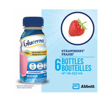 Nutritional Drinks, 6 x 237 ml, Strawberry – Glucerna : Meal supplement | Jean CoutuPreviewPreviewPreviewPreview