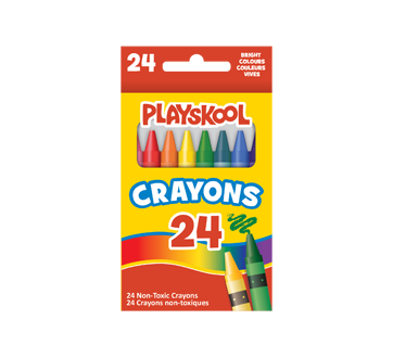 Crayons Bright Colours, 24 units