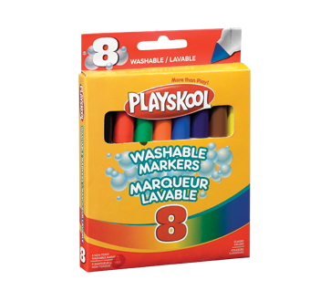 Washable Markers, 8 units