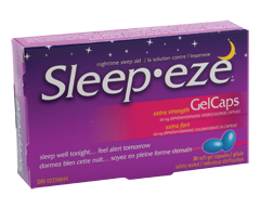 Image of product Sleep-eze - Sleep-eze Extra Strength GelCaps, 20 units
