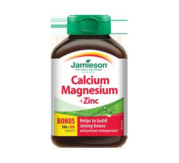 Image 1 of product Jamieson - Calcium Magnesium + Zinc, 100+100 units