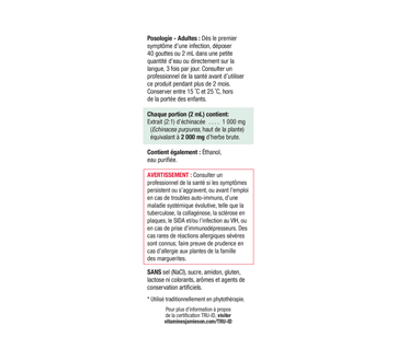 Image 3 of product Jamieson - Echinacea Tincture (echinacea purpurea) 1,000 mg, 50 ml
