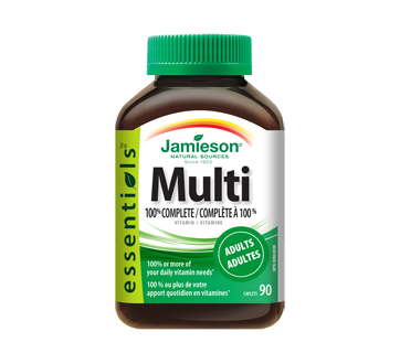 Image of product Jamieson - 100% Complete Multivitamin for Adults, 90 units