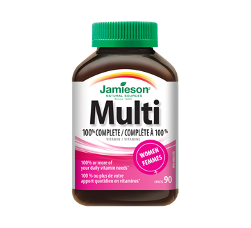 Image of product Jamieson - 100% Complete Multivitamin for Women, 90 units