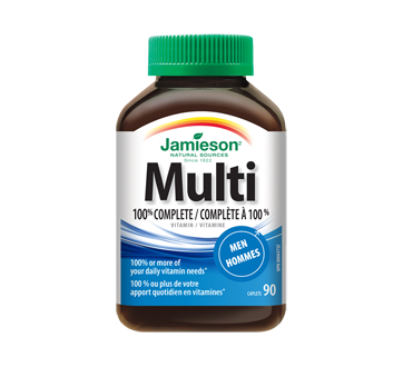 Image of product Jamieson - 100% Complete Multivitamin for Men, 90 units