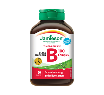 Image 1 of product Jamieson - B Complex 100 mg Timed Release  , 60 units
