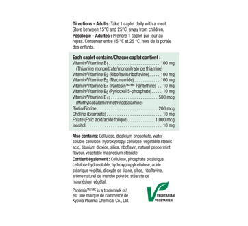 Image 3 of product Jamieson - B Complex 100 mg Timed Release  , 60 units