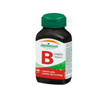 Image 1 of product Jamieson - B Complex + Vitamin C  , 100 units