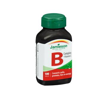 Image 2 of product Jamieson - B Complex + Vitamin C  , 100 units