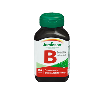Image 3 of product Jamieson - B Complex + Vitamin C  , 100 units