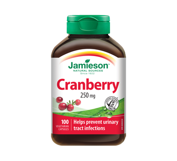 Image 1 of product Jamieson - Cranberry 250 mg, 100 units