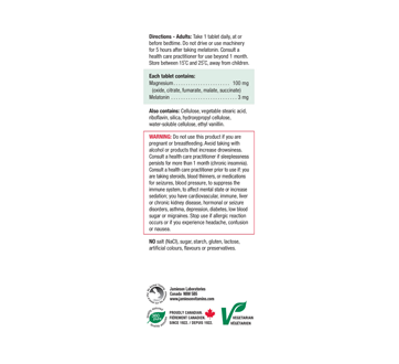 Image of product Jamieson - Magnesium 100 mg, 100 units