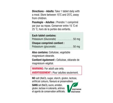 Image 3 of product Jamieson - Potassium 50 mg , 100 units