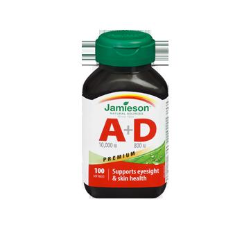 Image 3 of product Jamieson - Vitamine A 10 000 UI + D 800 UI, 100 units