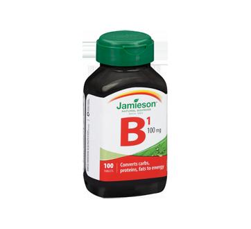 Image 2 of product Jamieson - Vitamin B1 100 mg (Thiamine), 100 units