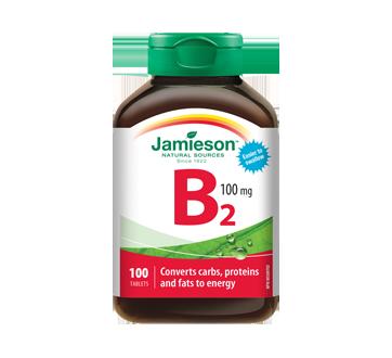 Image 1 of product Jamieson - Vitamin B2 100 mg (Riboflavin) , 100 units