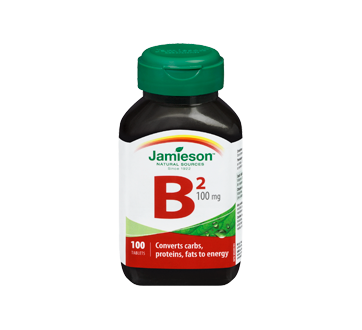 Image 3 of product Jamieson - Vitamin B2 100 mg (Riboflavin) , 100 units
