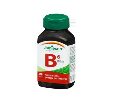 Image 1 of product Jamieson - Vitamin B6 100 mg (Pyridoxine) , 100 units