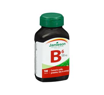 Image 2 of product Jamieson - Vitamin B6 100 mg (Pyridoxine) , 100 units
