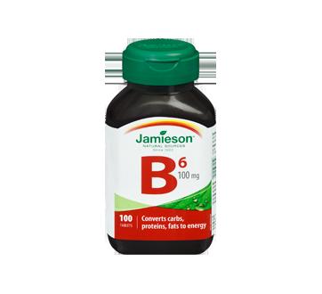 Image 3 of product Jamieson - Vitamin B6 100 mg (Pyridoxine) , 100 units
