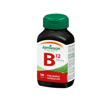 Image 1 of product Jamieson - Vitamin B12 250 g, 100 units