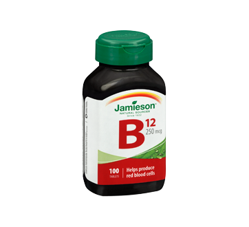 Image 2 of product Jamieson - Vitamin B12 250 g, 100 units