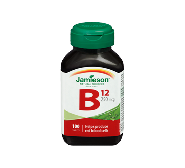 Image 3 of product Jamieson - Vitamin B12 250 g, 100 units