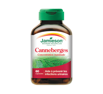 Image of product Jamieson - Concentrate Cranberry Complex 500 mg, 60 units