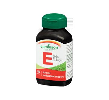 Image 1 of product Jamieson - Vitamin E 200 IU Natural, 100 units