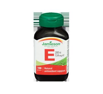 Image 3 of product Jamieson - Vitamin E 200 IU Natural, 100 units