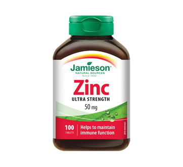 Image 1 of product Jamieson - Zinc Extra Stenght 50 mg, 100 units