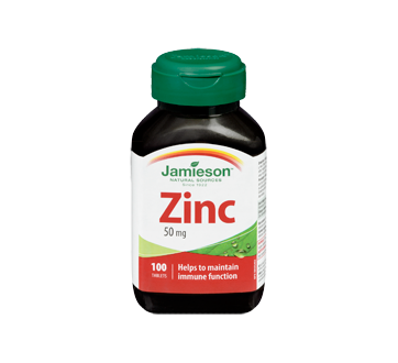 Image 3 of product Jamieson - Zinc Extra Stenght 50 mg, 100 units