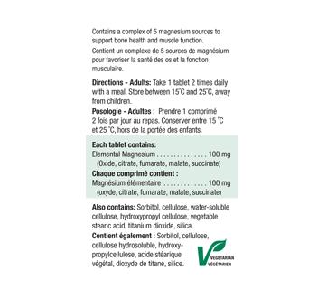 Image 2 of product Jamieson - Magnesium 100 mg, 100 units
